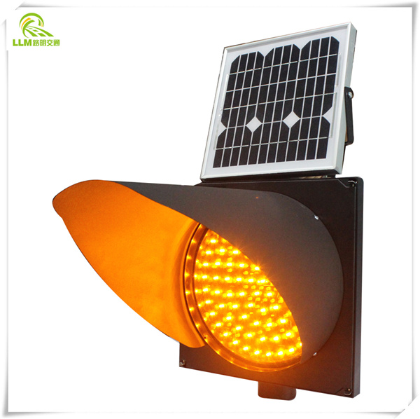 Solar Strobe Light,solar Yellow Flashing Light,warning Light
